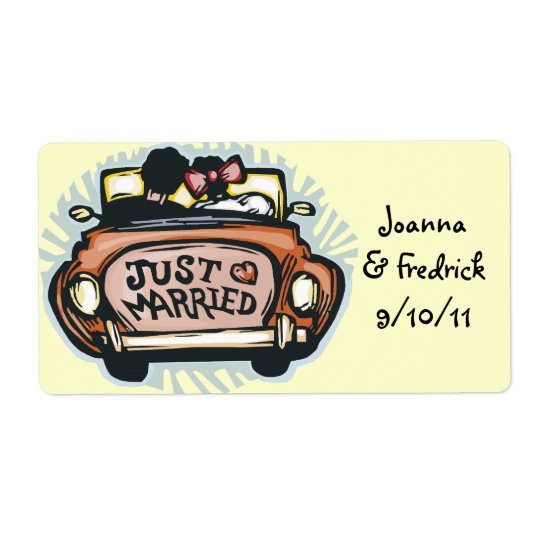 Just Married Labels