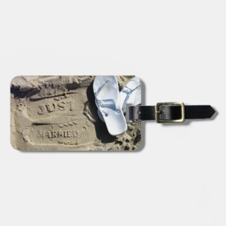 Just Married Tags For Luggage