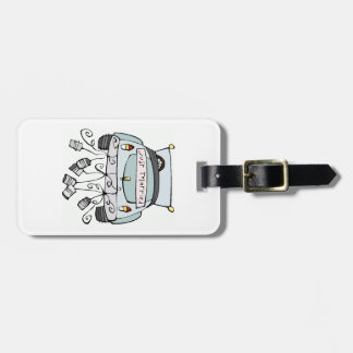Just Married Luggage Tag - Customize it!