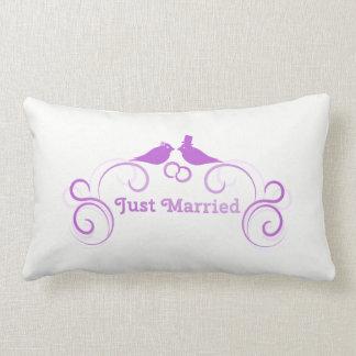 Just Married Lumbar Cushion