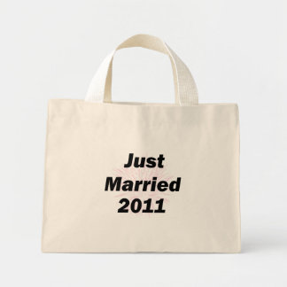 Just Married Mini Tote Bag