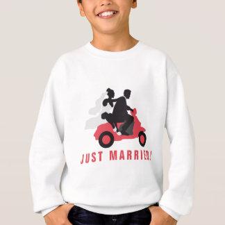 just married more scooter sweatshirt