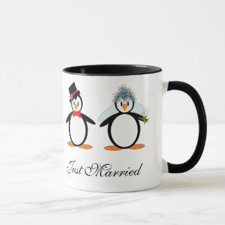 Just Married Pengos Mug