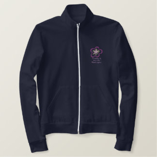 Just Married Personalized Embroidered Track Jacket