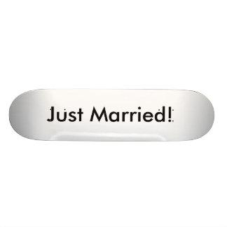 Just Married Skate Decks