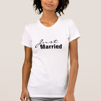 Just Married Tank top for the New Bride