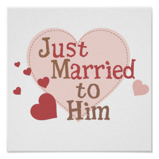 Just Married to Him Poster