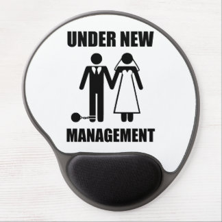 Just Married, Under New Management Gel Mouse Pad