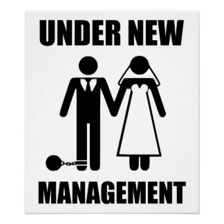 Just Married, Under New Management Poster