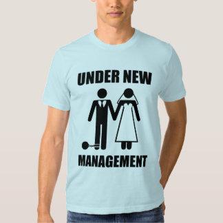 Just Married, Under New Management Shirt