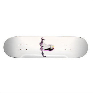 Just Married Wedding Couple 21.3 Cm Mini Skateboard Deck