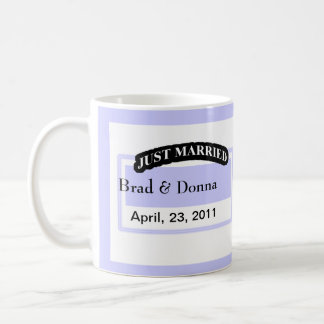 Just Married Wedding Mugs