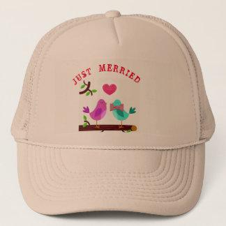 JUST MERRIED CAP