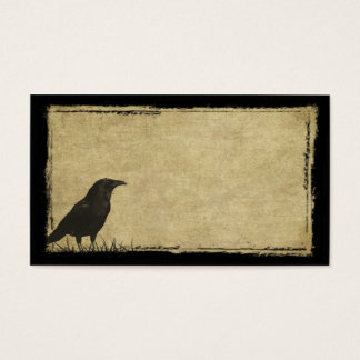 Just One Black Crow- Prim Biz Cards