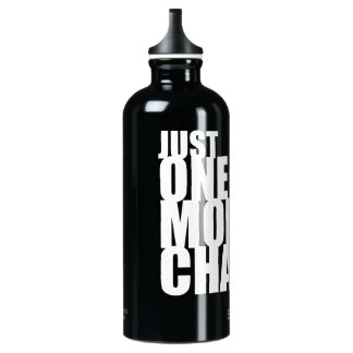 Just One More Chapter Water Bottle