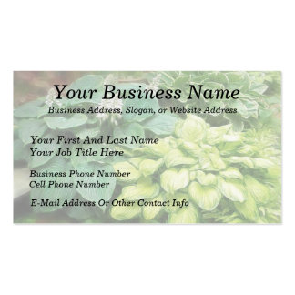 Just One More Hosta! Business Card Template
