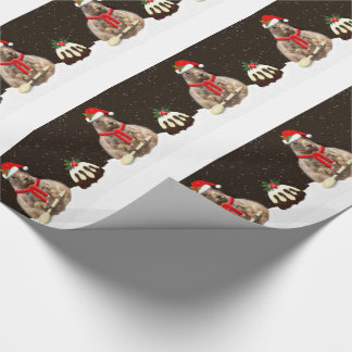 Just One More Pud Wrapping Paper