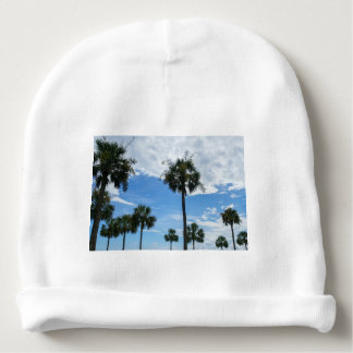 Just Palm Trees Baby Beanie