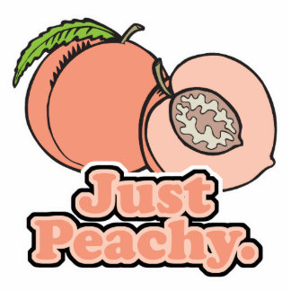 Just Peachy Peach Cut Out