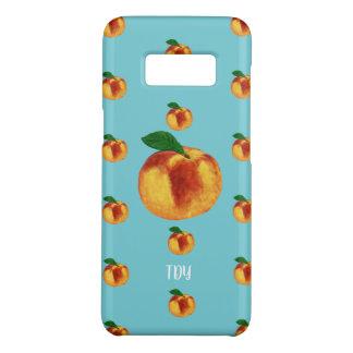 """""""Just Peachy"""" Peach (robin egg) Case-Mate Samsung Galaxy S8 Case"""
