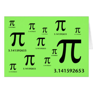 Just Pi, Nothing More Card
