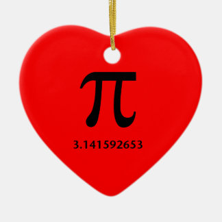 Just Pi, Nothing More Ceramic Ornament