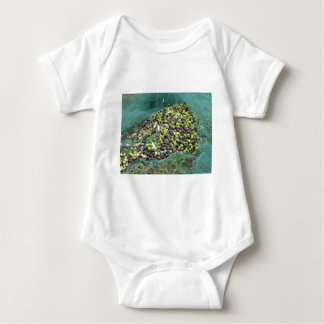 Just picked olives on the net during harvest time baby bodysuit