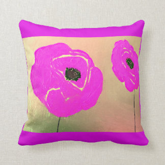 Just Pink Floral Cushion