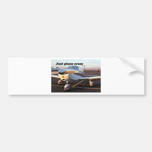 Just plane crazy: aircraft, Page, Arizona, USA 13 Bumper Stickers