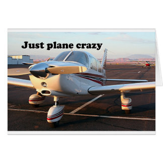 Just plane crazy: aircraft, Page, Arizona, USA 13 Card