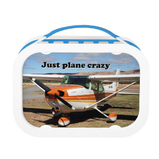 Just plane crazy: Cessna aircraft Lunch Box