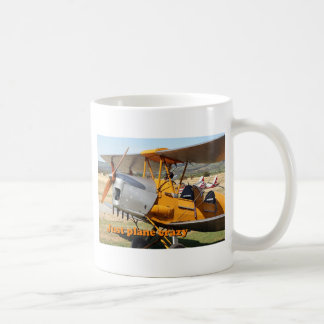 Just plane crazy: Tiger Moth biplane aircraft Coffee Mug