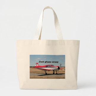 Just plane crazy: Yak aircraft Large Tote Bag