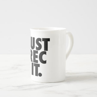 Just Rec It – Bone China Mug