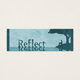 Just Reflect Bookmarks Mini Business Card