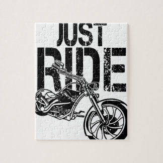 JUST RIDE JIGSAW PUZZLE