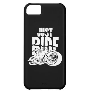 Just Ride Motorcycle Design iPhone 5C Cover