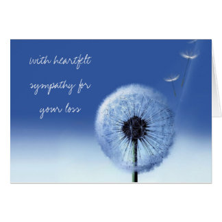 Just Right Sympathy Card