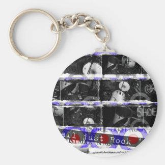 just rock key ring