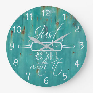Just Roll With It - Kitchen Clock