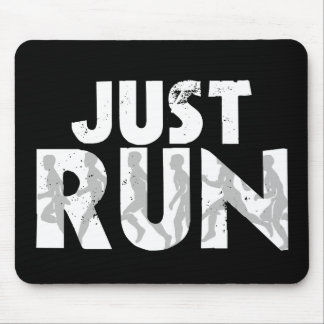 Just Run Mouse Pad