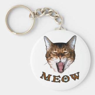 "Just Say ""Meow"" Key Ring"