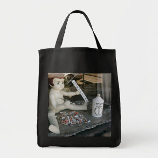 Just Say No Grocery Tote Bag