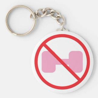 Just say NO keychain