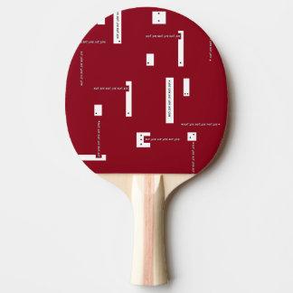 just sayin' ping pong bat ping pong paddle