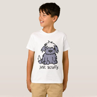 Just Scruffy Cartoon Dog T-Shirt