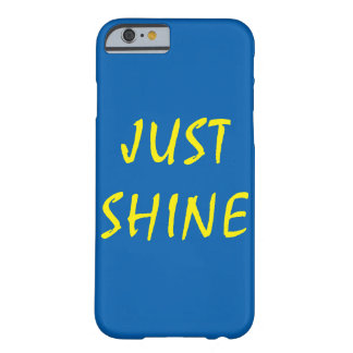 Just Shine Barely There iPhone 6 Case