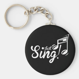 Just Sing! Key Ring