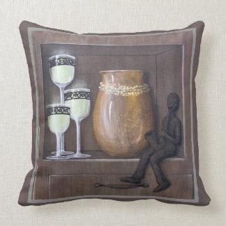 """Just Sitting Around"" Still Life Cushion"
