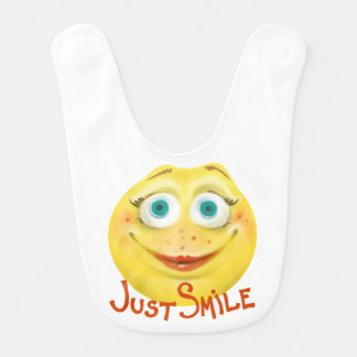 Just Smile :) Bib